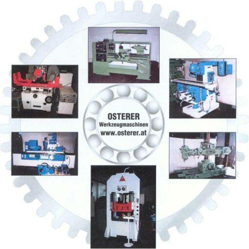 OSTERER Werkzeugmaschinen | Seefeld 48 | A-4853 Steinbach am Attersee | Europe |+43 664 3263151 | office@osterer.at | Lagerliste