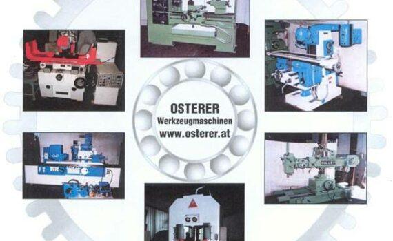 OSTERER Werkzeugmaschinen   Seefeld 48   A-4853 Steinbach am Attersee   Europe  +43 664 3263151   office@osterer.at   Lagerliste